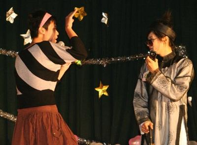 Hai gương mặt sinh viên Giao thông thanh lịch nhất 2009 - 1