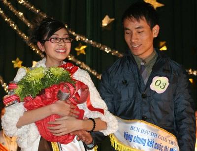Hai gương mặt sinh viên Giao thông thanh lịch nhất 2009 - 6