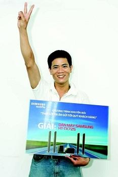 Samsung Mobile với cơn mưa giải thưởng đợt 1 - 2