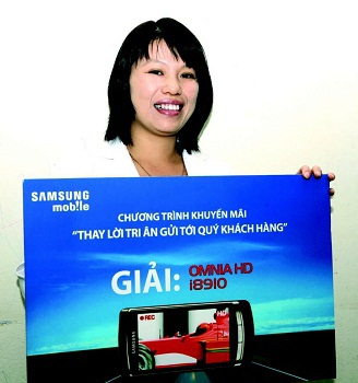 Samsung Mobile với cơn mưa giải thưởng đợt 1 - 3