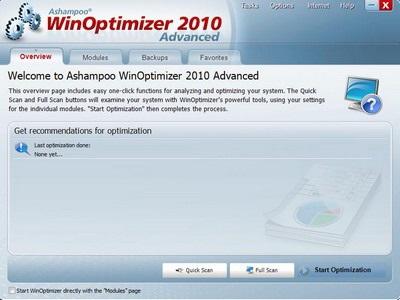 WinOptimizer 2010 - Tối ưu hệ thống chỉ bằng 1 cú click chuột - 5