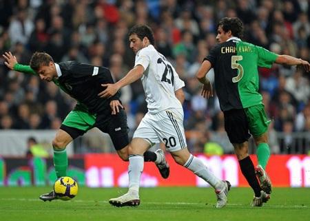 Vé đi tiếp dành cho Real Madrid? - 2