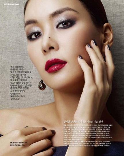 Cận cảnh người yêu xinh đẹp của tài tử Jang Dong Gun - 5
