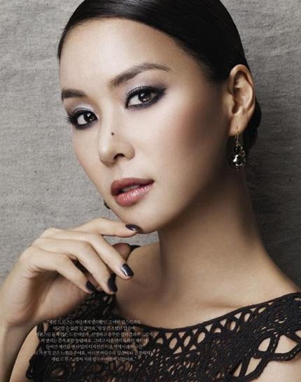 Cận cảnh người yêu xinh đẹp của tài tử Jang Dong Gun - 3