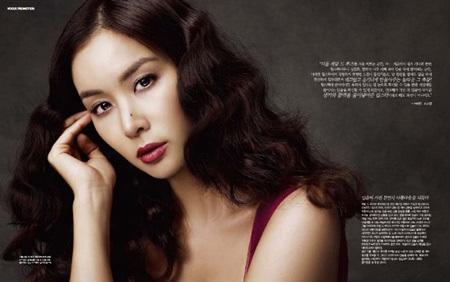 Cận cảnh người yêu xinh đẹp của tài tử Jang Dong Gun - 2