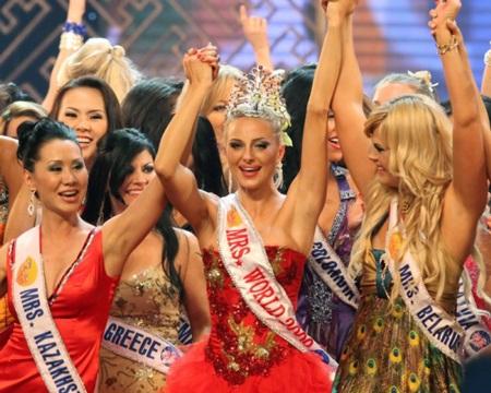 Tân hoa hậu quý bà từng tham dự nhiều cuộc thi sắc đẹp - 6