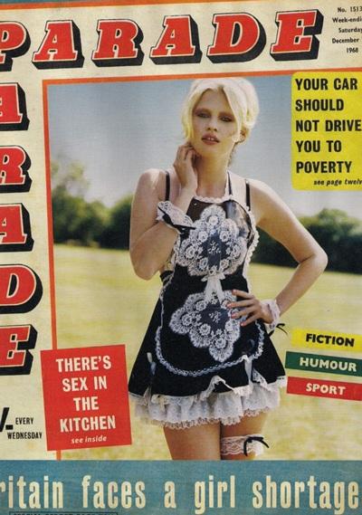 Lara Stone đẹp quyến rũ trên i-D  - 2