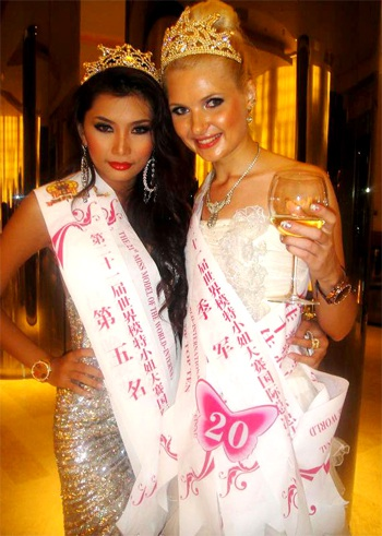 Lan Hương đoạt giải Á hậu 4 cuộc thi Người mẫu Thế giới - 3