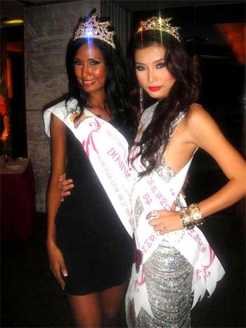 Lan Hương đoạt giải Á hậu 4 cuộc thi Người mẫu Thế giới - 4