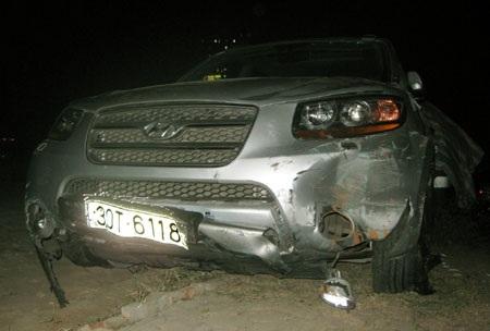 Cán bộ Cục CSGT gây tai nạn liên hoàn rồi bỏ chạy  - 1