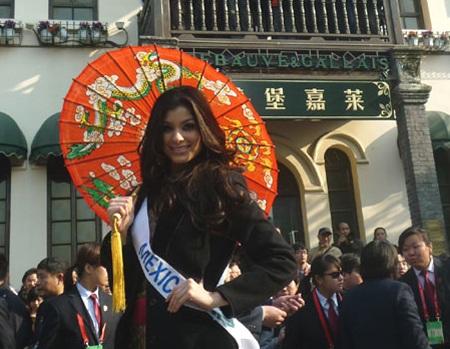 Những khoảnh khắc đẹp của giai nhân Mexico tại cuộc thi - 28