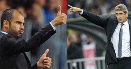 """Pellegrini """"tổng tấn công"""", Guardiola quyết thắng - 1"""