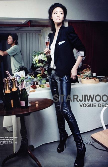 """Phong cách thời trang của """"người đẹp khóc"""" Choi Ji Woo - 1"""