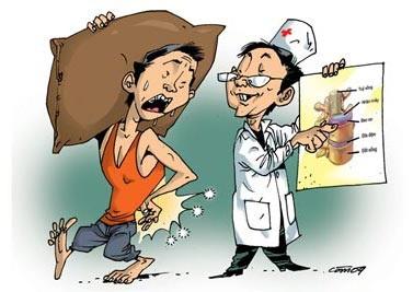 Có thể bại liệt vì đau thắt lưng | Báo Dân trí