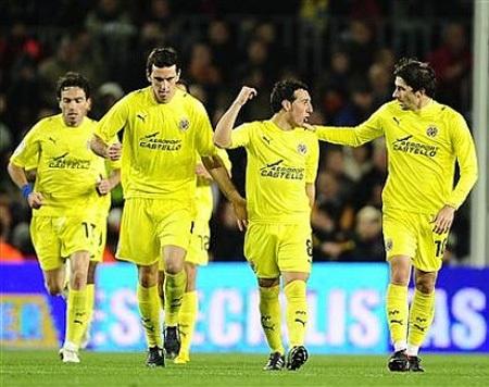 Hòa Villarreal, Barca khởi đầu năm 2010 đầy thất vọng - 2