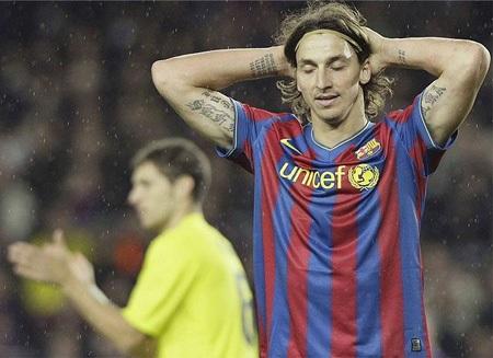 Hòa Villarreal, Barca khởi đầu năm 2010 đầy thất vọng - 3