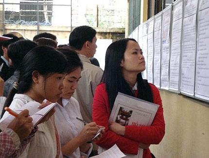 Hà Nội: Thưa thớt hồ sơ đăng ký thất nghiệp - 1