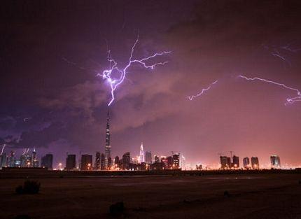"""""""Trời đánh"""" toà nhà cao nhất thế giới  - 3"""