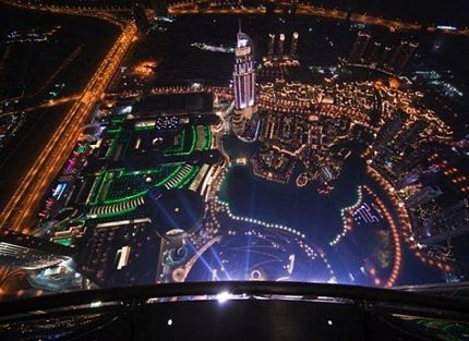 """""""Trời đánh"""" toà nhà cao nhất thế giới  - 7"""