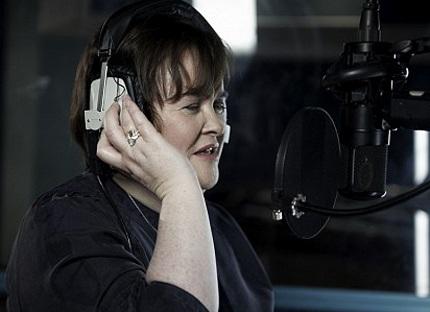 Susan Boyle thu âm ca khúc ủng hộ nạn nhân ở Haiti - 1