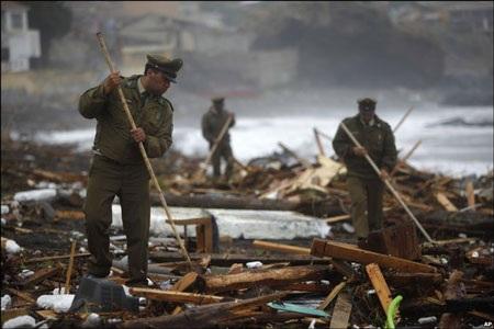 Chile - ngày thứ hai sau trận động đất kinh hoàng - 11