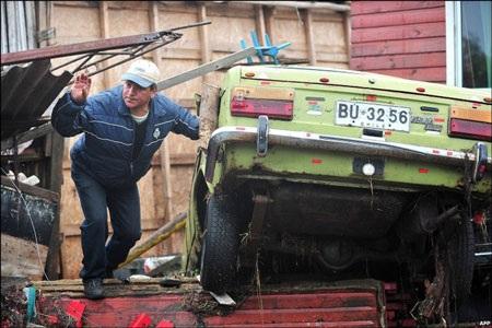 Chile - ngày thứ hai sau trận động đất kinh hoàng - 14