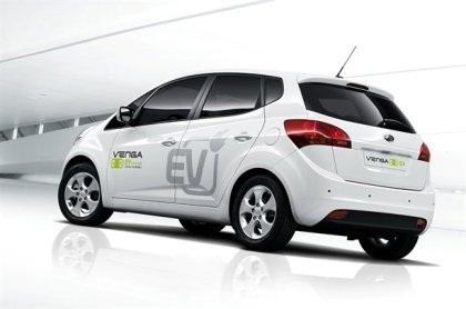 Venga - Xe chạy điện đầu tiên của Kia - 3