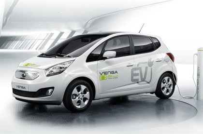 Venga - Xe chạy điện đầu tiên của Kia - 1