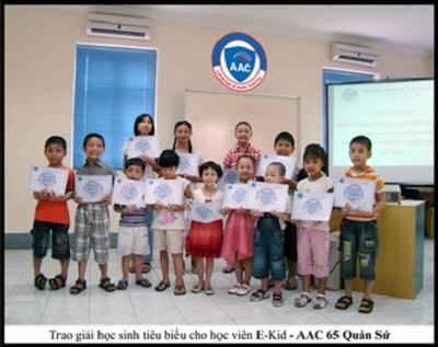 AAC dạy tiếng Anh miễn phí cho trẻ em - 1