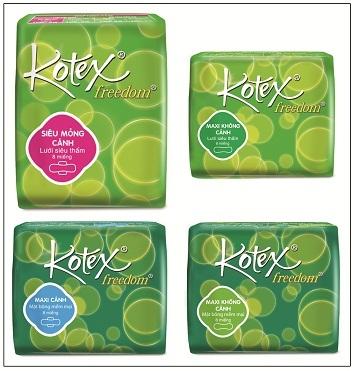 Giới thiệu Kotex Freedom với bao bì mới và kiểu dáng hiện đại - 1