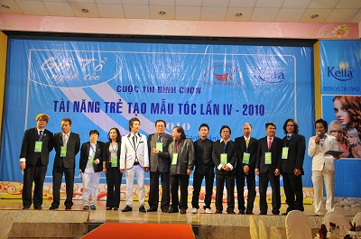 Lễ giỗ tổ ngành tóc Việt Nam và cuộc thi tìm kiếm tài năng trẻ tạo mẫu tóc lần thứ 4 năm 2010 - 2