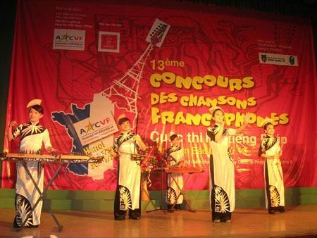 Trẻ trung ca hát tiếng Pháp toàn miền Bắc lần thứ 13 - 1