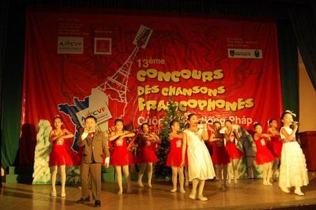 Trẻ trung ca hát tiếng Pháp toàn miền Bắc lần thứ 13 - 6