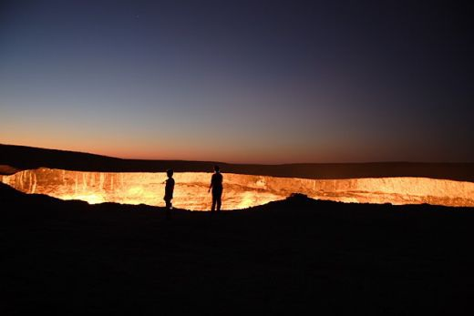 "Thăm ""Cổng địa ngục"" ở Uzbekistan - 4"