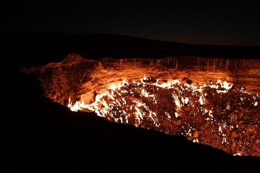 "Thăm ""Cổng địa ngục"" ở Uzbekistan - 5"