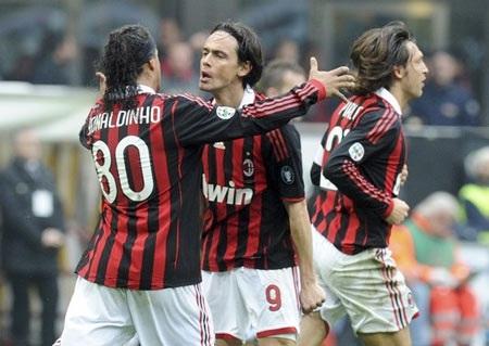"""AC Milan """"cướp hụt"""" ngôi đầu của ĐKVĐ Inter - 3"""