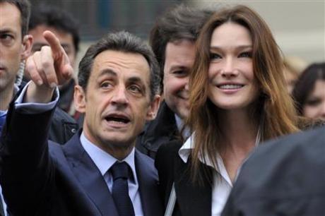 """Tổng thống Sarkozy """"thua đậm"""" trong cuộc bầu cử cấp vùng - 1"""
