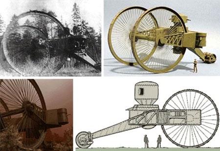 """9 phát minh vũ khí chiến tranh """"kỳ lạ"""" nhất - 3"""