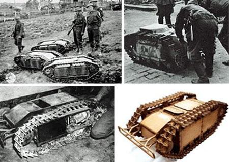 """9 phát minh vũ khí chiến tranh """"kỳ lạ"""" nhất - 4"""