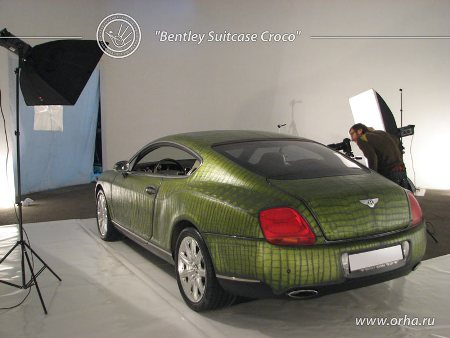 "Bentley ""áo da cá sấu"" - 2"