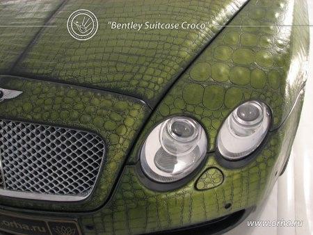 "Bentley ""áo da cá sấu"" - 3"