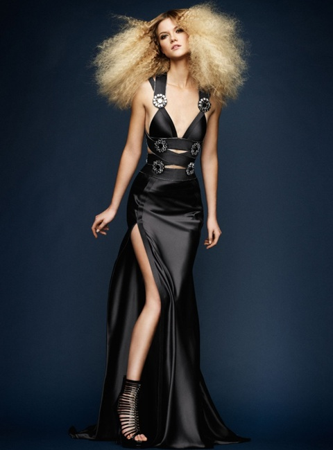 Kasia Struss quyến rũ với thời trang Atelier Versace  - 6