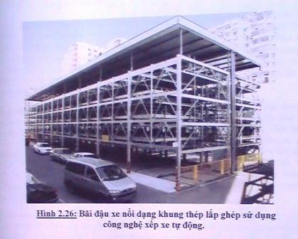 Đề xuất xây bãi giữ xe nhiều tầng và tự động - 1