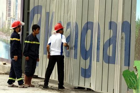 Cháy tại tòa nhà Keangnam, cứu hỏa phải… đứng nhìn - 3