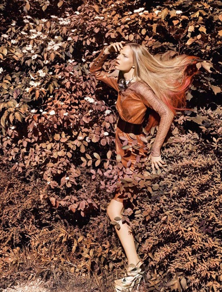 Nicola Haffmans khoe sắc giữa thiên nhiên - 6