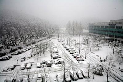 Lãng mạn tuyết xứ Hàn - 1