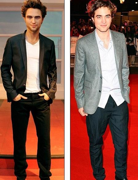 """Ngắm tượng sáp """"ma cà rồng"""" Robert Pattinson - 2"""