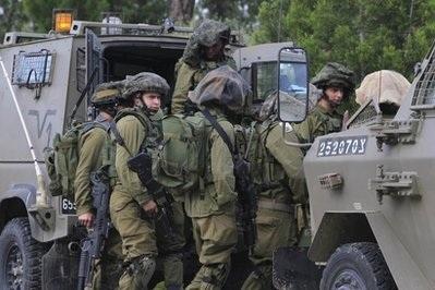 """""""Xe tăng Israel tiến vào Gaza"""" - 1"""