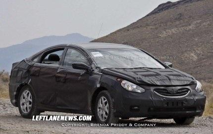 Hé lộ về Hyundai Sonata Hybrid - 3