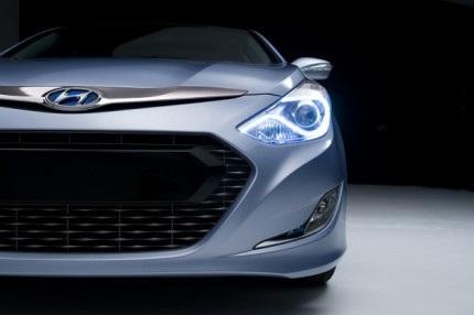 Hé lộ về Hyundai Sonata Hybrid - 1
